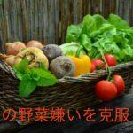 夫の野菜嫌いを克服しよう!野菜が大好きになる対処法とは?