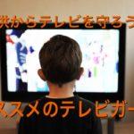 子供がテレビを破壊しそう⁉︎お勧めのガード方法ご紹介!!